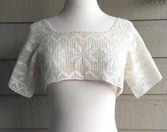 Edwardian Crochet Yoke (S/M/L)