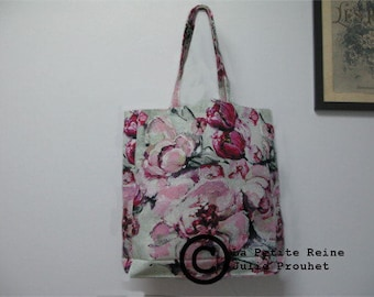 bag linen/coton model Jour de bulle