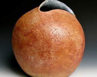 Hand Built Round Vase