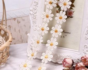 "Wholesale lot   150yds  Flower  venice Lace Trim DIY Sewing collar dress hair accesory  2.5cm 1"""