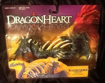 Dragonheart Razorthorn Dragon with Battle reactive thorns Action Figure MINT Kenner