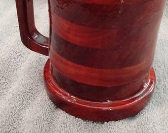 30 ounce Tankard Beer Mug in PADUAK