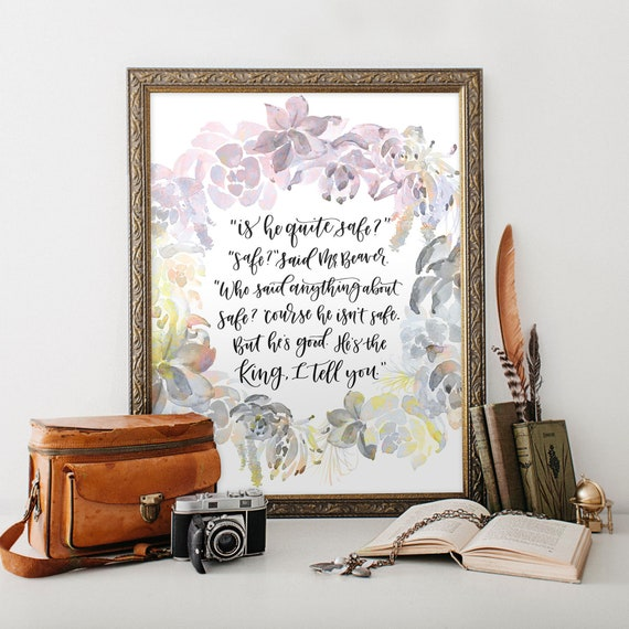 The Lion the Witch and the Wardrobe C.S. Lewis Printable