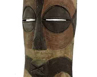 Songye Kifwebe  Mask Large Congo African Art 31 Inch 109907