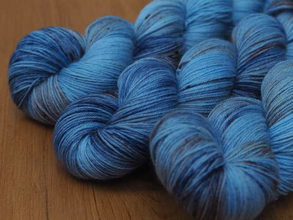 Dirty Denim Perfect Sock Merino Nylon Fingering Weight Yarn