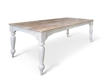 Dining Table, Farmhouse Table, Wood Table, Reclaimed Wood, Kitchen Table, Handmade, Rustic