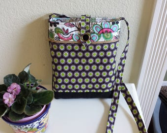 Made to Order - Cross Body Bag with front zippered pocket