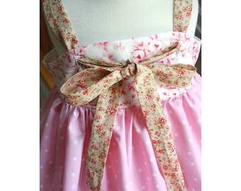 Knot Dress Pattern sizes newborn through 12 girls PDF sewing pattern