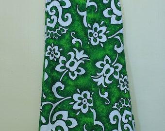 1960s Hawaiian Barkcloth Shift Dress