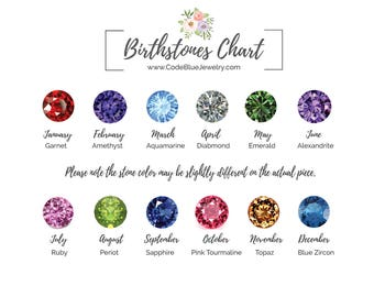 Add on a Tiny Birthstone to Your Current Jewelry Purchase