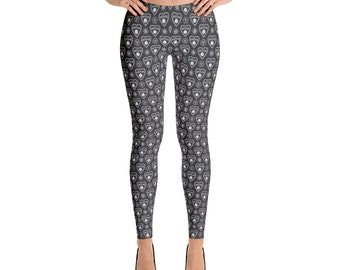 Ouija spirit board leggings