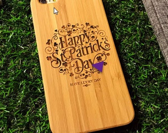 Iphone wood case hand made