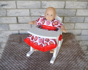 Rocker/Highchair - Fits Bitty Baby