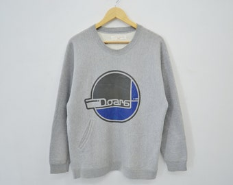 Doarat Sweatshirt Vintage DOARAT Sweater Crewneck Pullover Activewear Made in Japan Size M