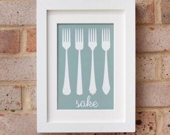 Four Forks 2014 - Giclée Print