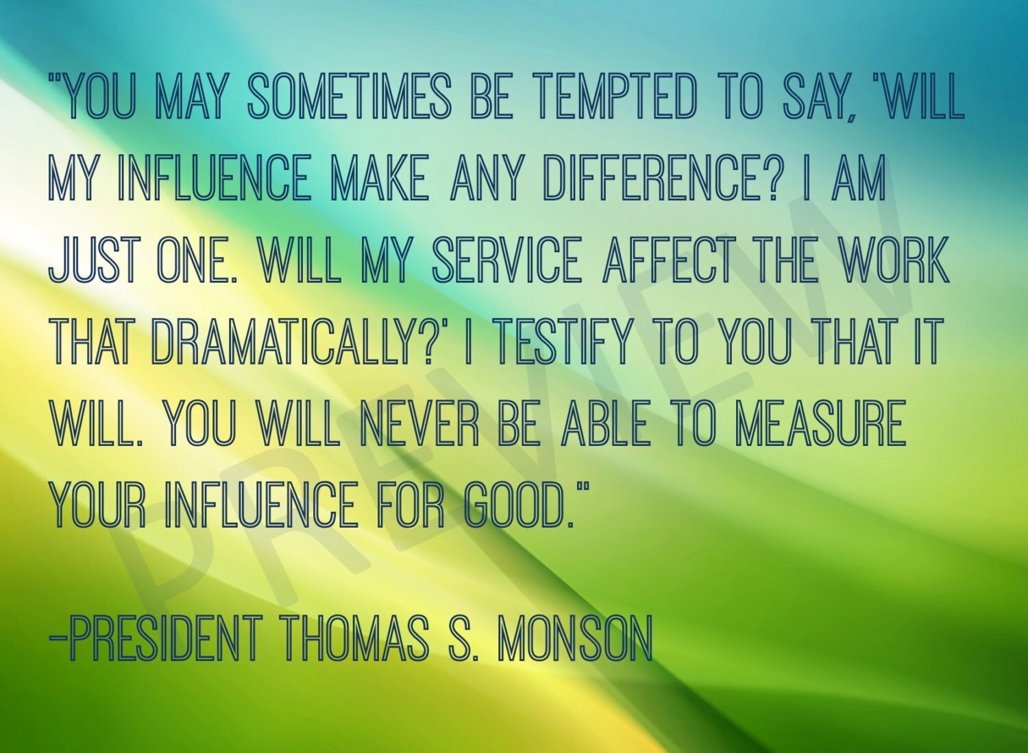 Lds Missionary Quotes Missionary Quote Lds Mormon Prophet President Thomas S Monson