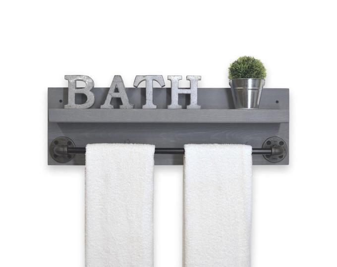 towel wrap a rail phenomenal glass rack club bathroom howt image bar text with around shelf