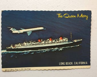 The Queen Mary postcards