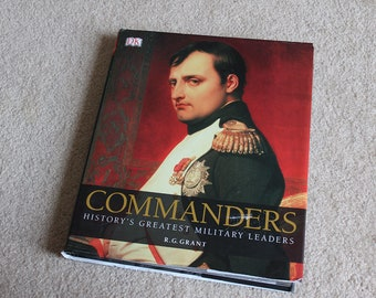 Commanders - Hard cover Table top book