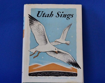 Utah Sings: An Anthology Of Contemporary Verse Volume II edited by Carlton Culmsee - Vintage Book c. 1942 - Brigham Young University