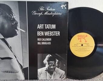 Art Tatum LP Group masterpieces with Ben Webster (1975) jazz