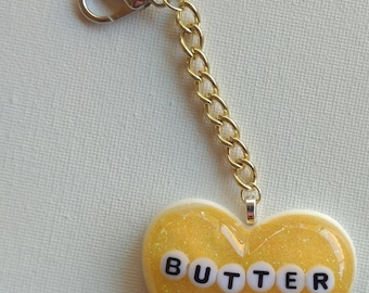 B-Grade Yellow ButterCup Keychain