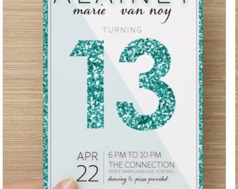 Personalized Birthday Invitation-Custom Birthday Art, Custom Design Printable, Personalized Design
