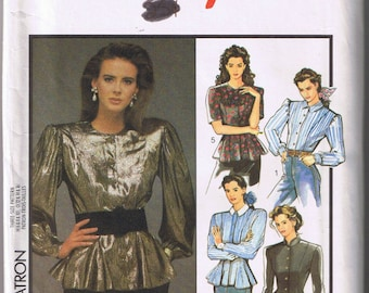 Vintage STYLE 1668 Sewing Pattern - Misses' Set of Blouses - Sizes 6, 8, 10 - UNCUT Factory Folded