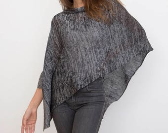 Poncho: Lightweight Charcoal