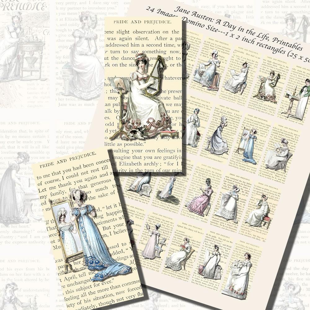jane austen s world regency fashions printables  part 2