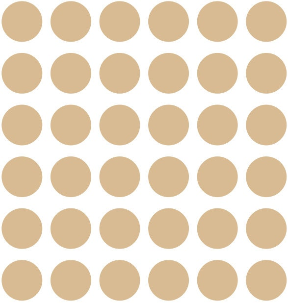 36 1.5 Metallic Gold Polka Dot Wall Decals - Home - Home Decor ...