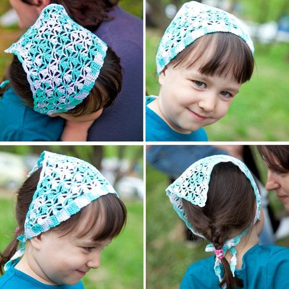 Beach bandana sport head kerchief baptism headband hair
