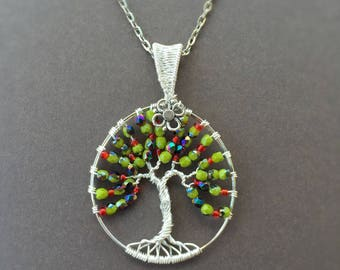Apple Tree of Life, Apple Tree Wire Wrap,