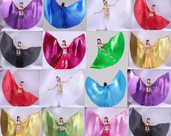 Holographic Isis Wings Dance Prop