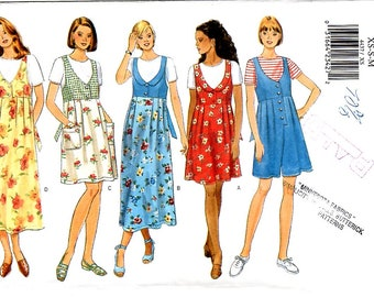 Misses/Petite Jumper, Jumpsuit, and Top, Sizes XS-S-M, Butterick 4437