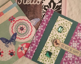 Handmade special or all occasion greeting cards