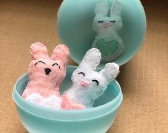 Miniature Pocket Stuffed Animal Bunnies