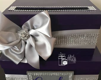 Sparkle Gift Card Box (2 Tier)