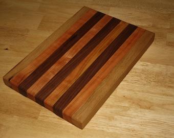 Handmade Walnut and Cherry Cutting Board
