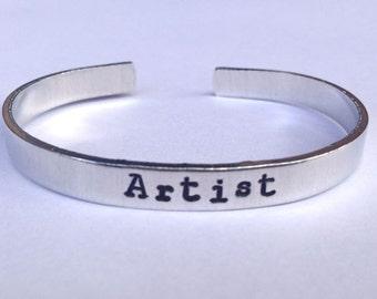 Artist- Cuff Bracelet