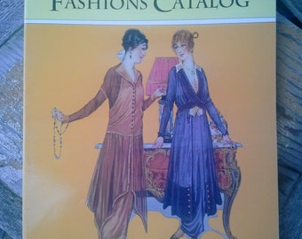 Catalog reproduction of The Home Pattern Company Fashions Catalog from 1914 mint condition for fashion designers and interested collectors