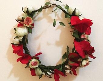 Custom Silk Flower Crown