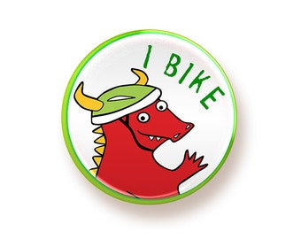 I Bike - button