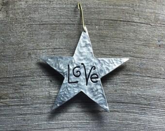 Star ornament - Love