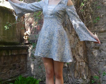 sewing pattern middle age dress Linz  PDF File with E-Book Sewing instructions