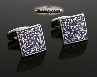 Personalized initials,art cufflinks,fashion cufflinks,Design cufflinks, art design cufflinks