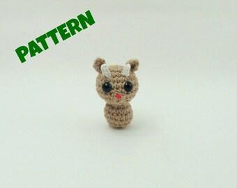 Crochet Reindeer Pattern / Christmas Pattern / Christmas Ornament / Animal Pattern / Crochet Animal Pattern / Kids Pattern / Christmas Gifts