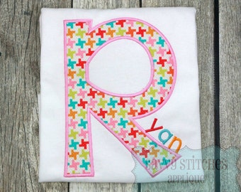 Behind These Hazel Eyes Applique Embroidery Font