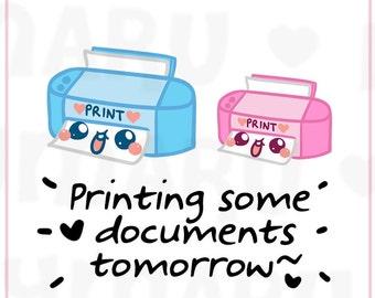 Printer    Planner Stickers, Cute Stickers for Erin Condren (ECLP), Filofax, Kikki K, Etc.    DPS85