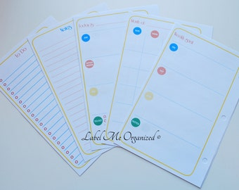 Perpetual Calendar Planner Kit - A5 Sized